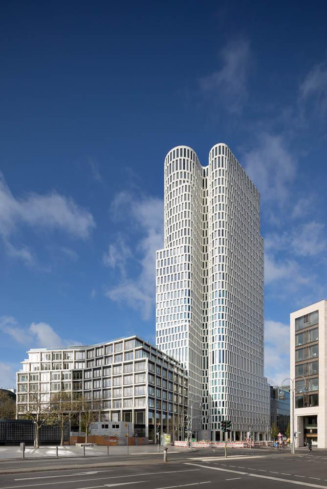 Architekturfotografie Upper West ksp jürgen engel architekten Hotel Berlin