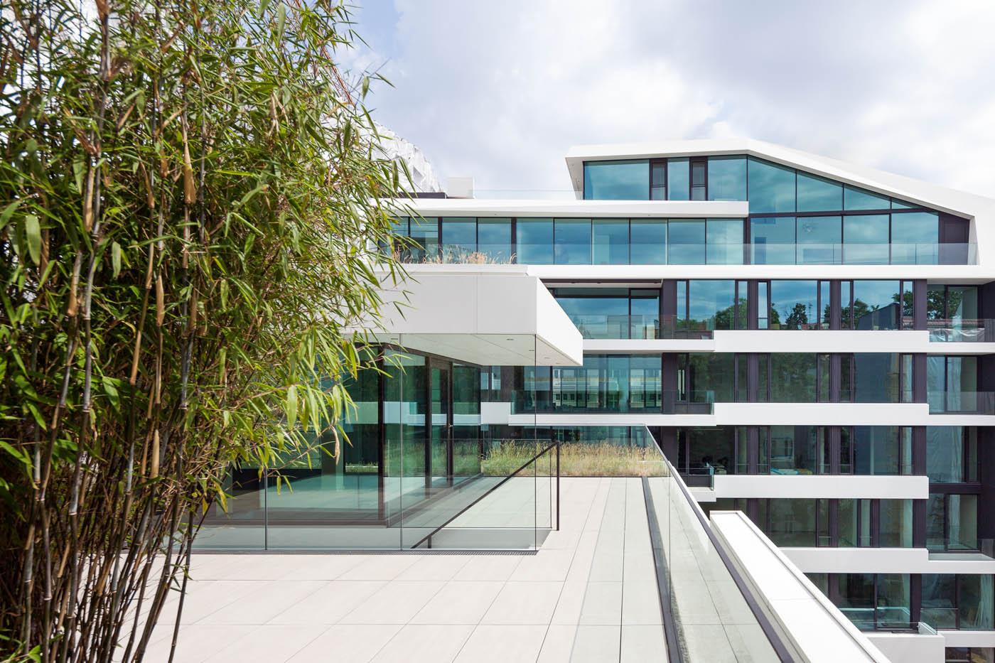 Architekturfotografie Axthelm Rolvien Architekturdokumentation Bürogebäude