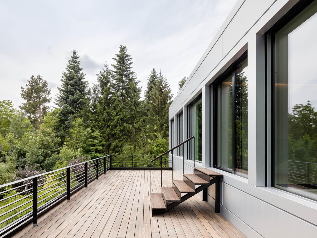 Architekturfotografie Tchoban Voss Architekten Architekturdokumentation Villa bei Potsdam