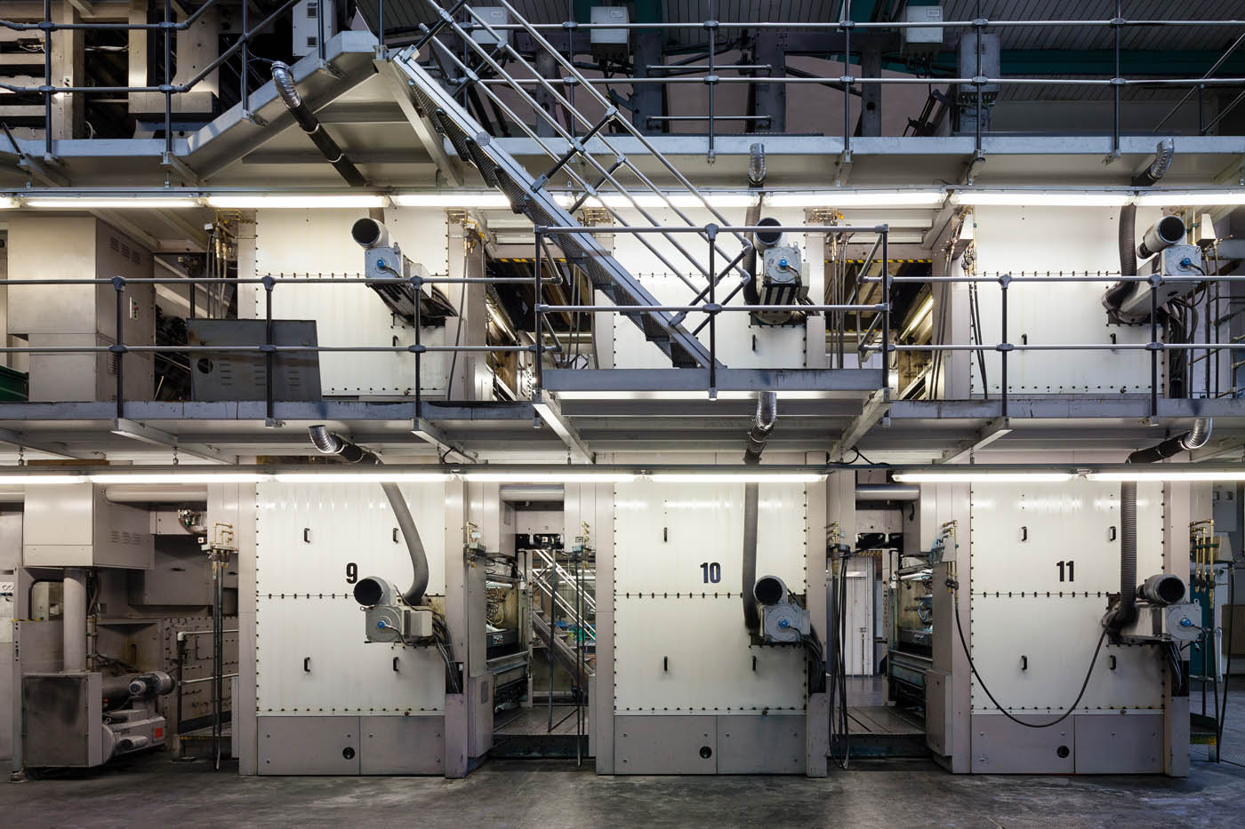 Druckindustrie Druckerei corporate photography Industriefotografie Unternehmensdarstellung