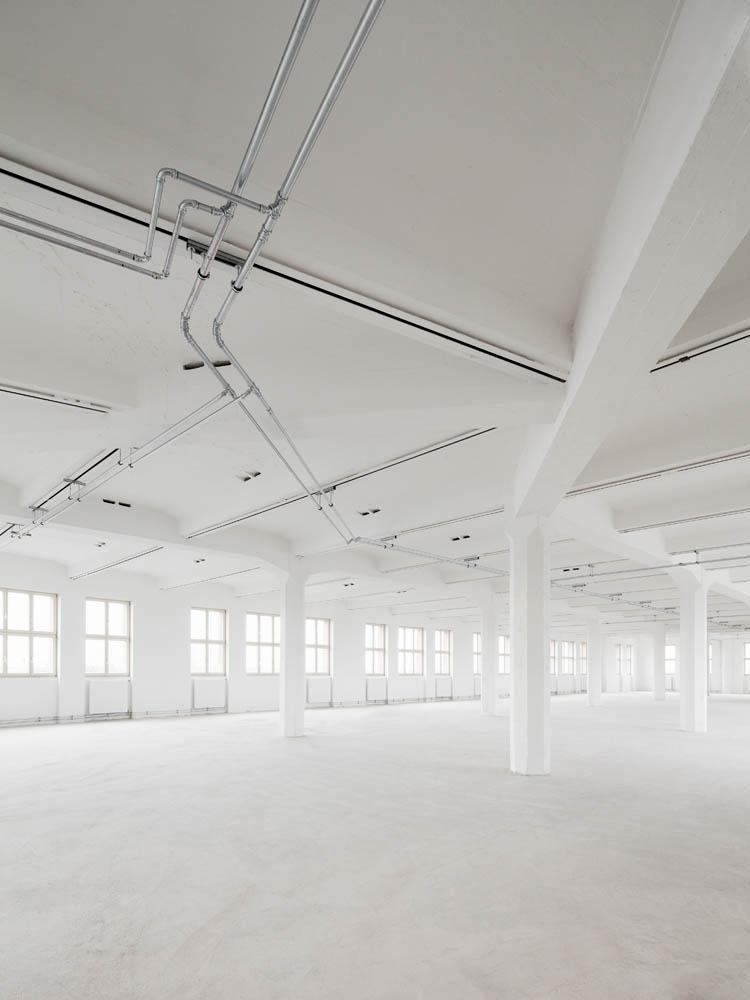 Architekturfotografie Atelierhof Berlin Weißensee Sternradio Baudokumentation Industriefotografie