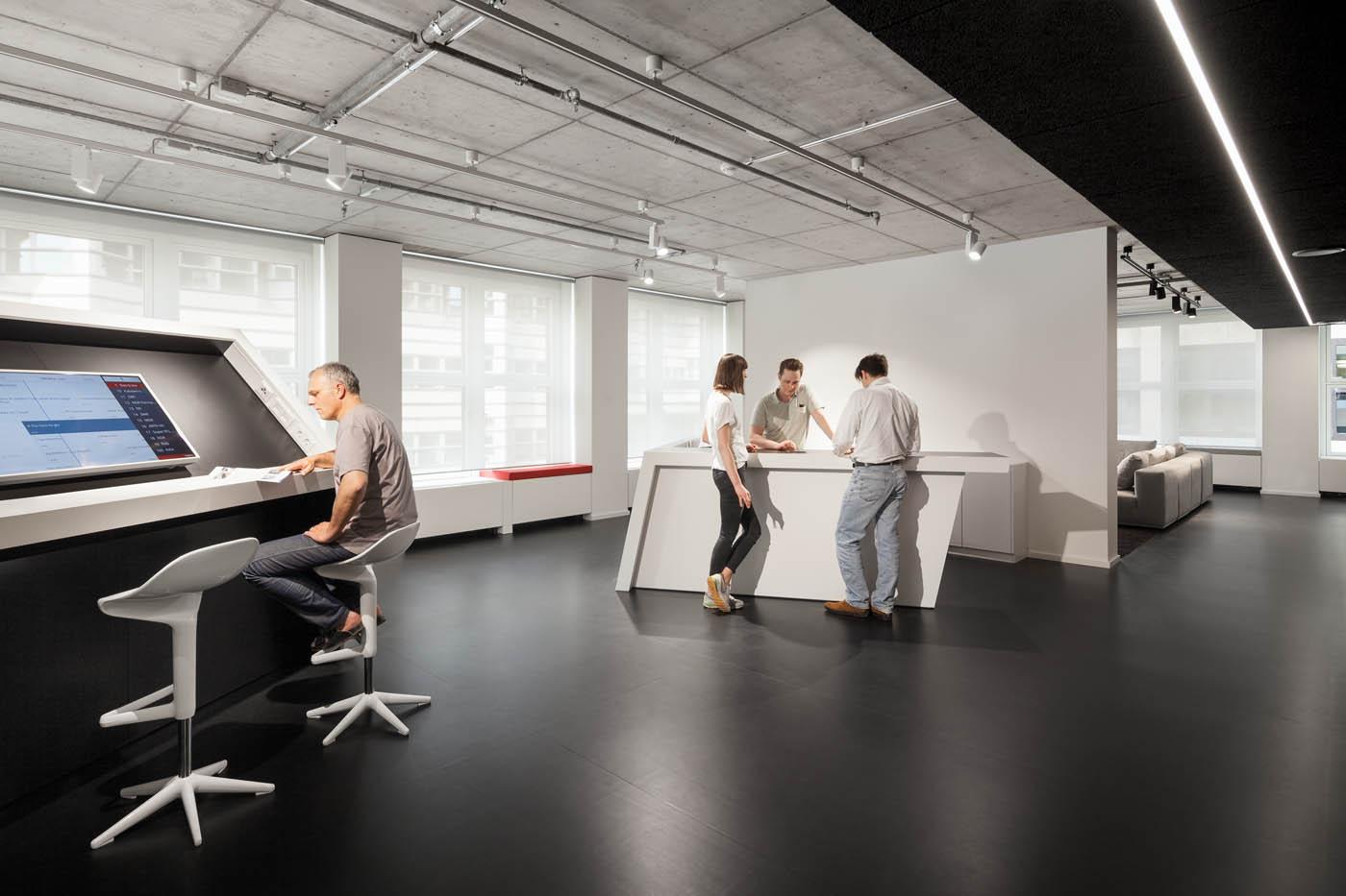 Architekturfotografie Kinzo Berlin Baudokumentation Interior Design Funke Medien
