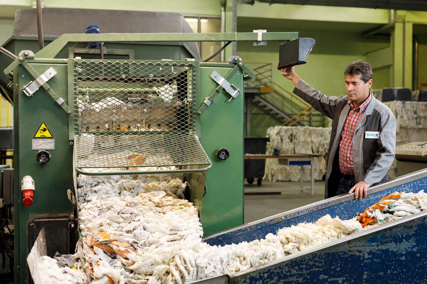 soex textilrecycling Mitarbeiterporträt corporate photography Unternehmensdarstellung Unternehmensbericht