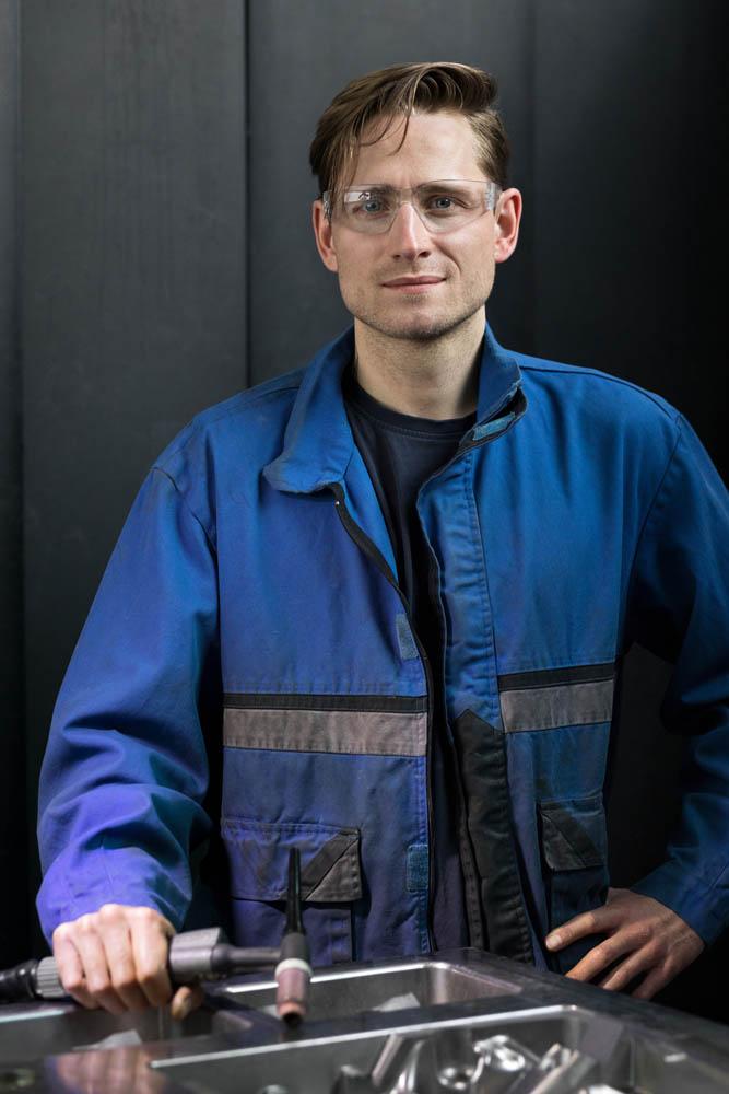 Porträtfotografie Mitarbeiterporträt Unternehmensbericht Corporate Photography industrial photography