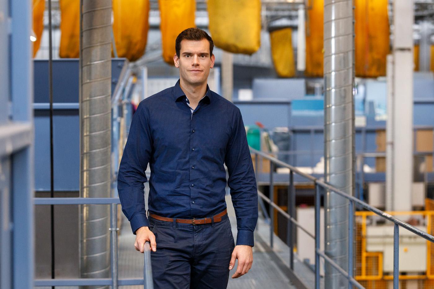 soex textilrecycling Businessporträt Produktionshalle